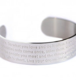 Love Ibiza Life bracelet Silver