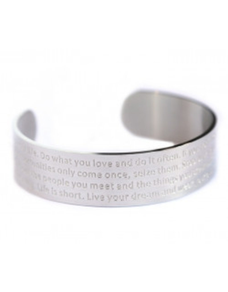 Love Ibiza Suede bracelet with a silver plated - Copy