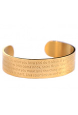 Love Ibiza Life bracelet Gold