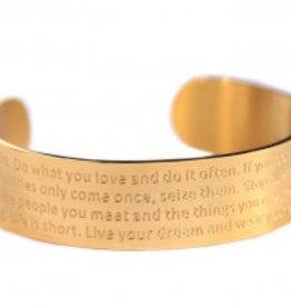 Love Ibiza Life bracelet Silver - Copy