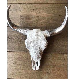 Damn Skull 40 cm white - Copy - Copy