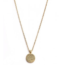 Love Ibiza Ketting munt gold