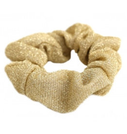 Love Ibiza Scrunchie Glitz gold