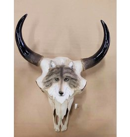 Damn Skull wolf