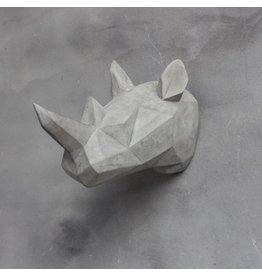 Damn Skull concrete look rhinoceros