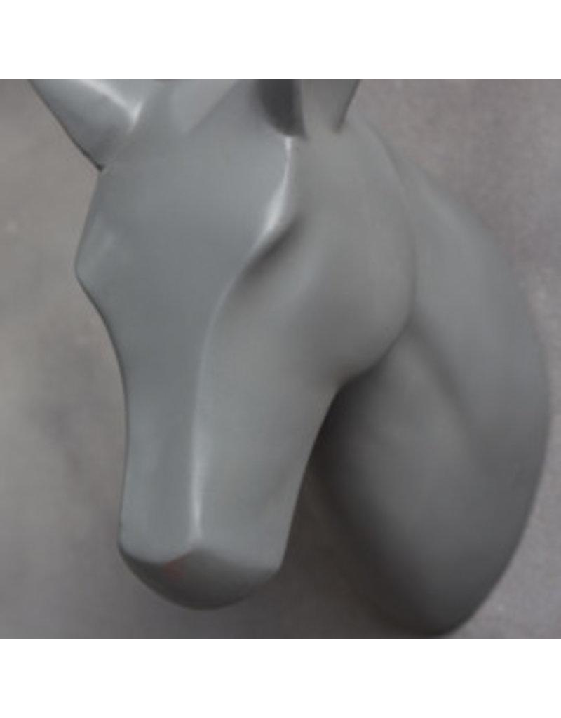 Damn Skull gray horse