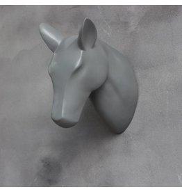 Damn Skull grijs paard