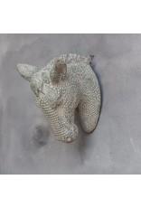 Damn Skull concrete look horse