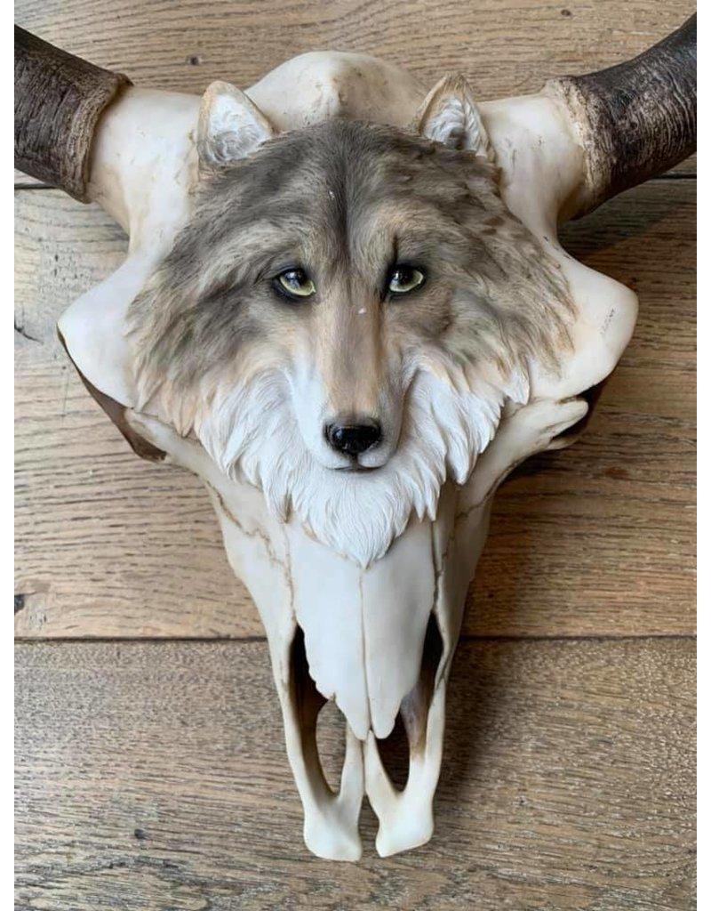 Damn Skull 40 cm white - Copy - Copy - Copy