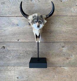 Damn Skull op voet wolf