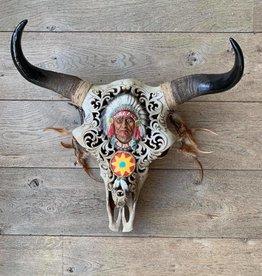 Damn Skull indiaan
