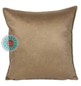 esperanza-deseo Velvet cushion Brick orange 45 x 45 cm - Copy - Copy