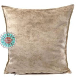 esperanza-deseo Velvet cushion Brick orange 45 x 45 cm - Copy - Copy - Copy
