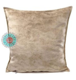 esperanza-deseo Velvet cushion Brick orange 45 x 45 cm - Copy - Copy - Copy