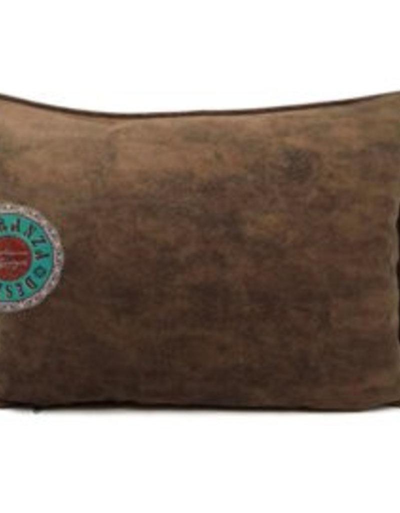 esperanza-deseo Velvet kussen mocca bruin 50 x 70 cm