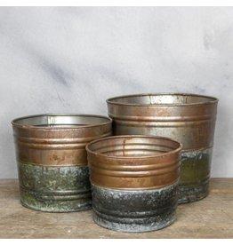 Damn Metal bucket set of 3