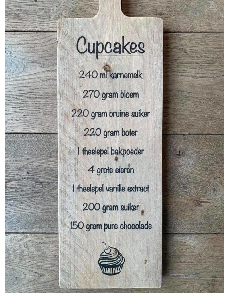 Damn Tapasplank cupcake