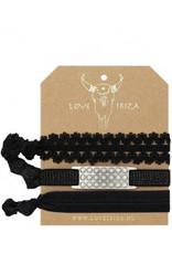 Love Ibiza Marble Set of 3 hair bows / bracelets - Copy