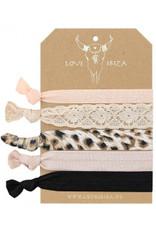 Love Ibiza Frozen set of 5 bracelets / hair bows - Copy - Copy - Copy