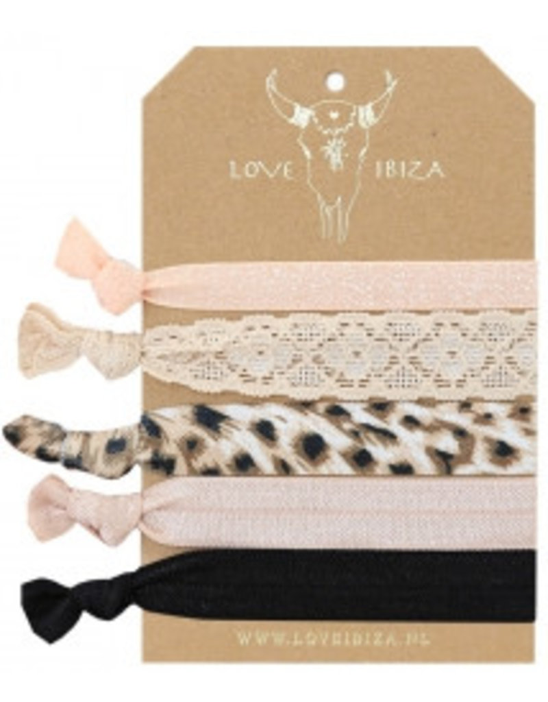 Love Ibiza Cheetah set van 5
