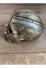 Damn Skull brons goud