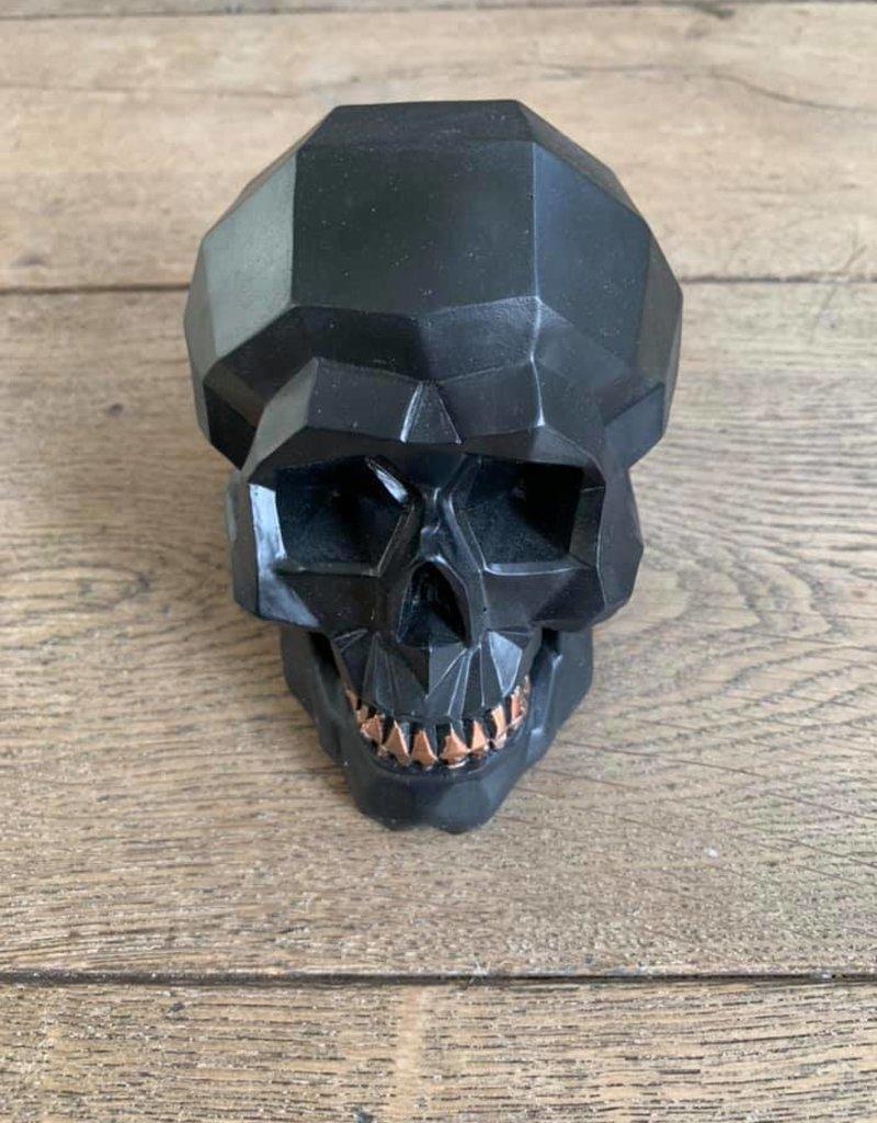Damn Skull zwart S