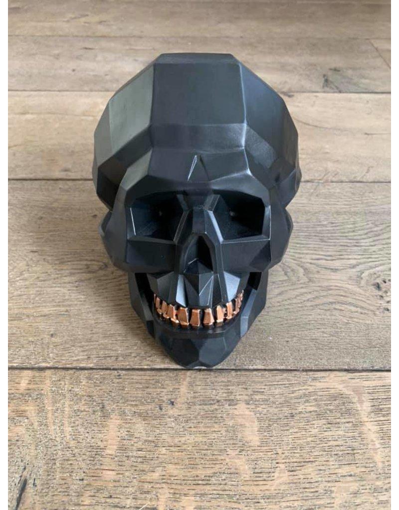 Damn Skull zwart M