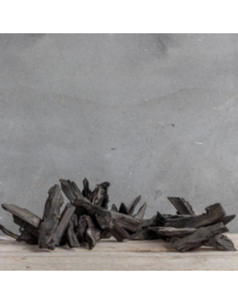 Damn Guirlande drijfhout 80 cm zwart
