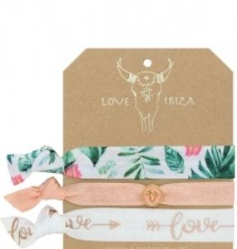 Love Ibiza White peach set van 3