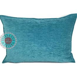 esperanza-deseo Turquoise kussenhoes 50x70cm