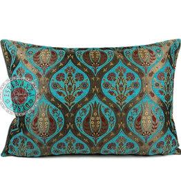 esperanza-deseo Tulip turquoise pillow case / cushion cover ± 50x70cm