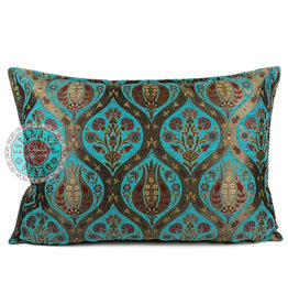 esperanza-deseo Tulip turquoise pillow case / cushion cover ± 50x70cm