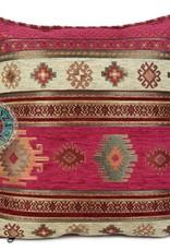 esperanza-deseo Aztec hardroze kussenhoes ± 45x45cm