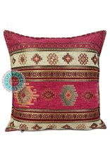 esperanza-deseo Flowers turquoise pillow case / cushion cover ± 45x45cm - Copy - Copy - Copy - Copy - Copy