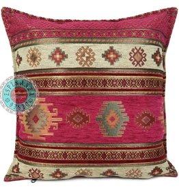 esperanza-deseo Flowers turquoise pillow case / cushion cover ± 45x45cm - Copy - Copy - Copy - Copy - Copy