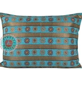 esperanza-deseo Flowers turquoise pillow case / cushion cover ± 45x45cm - Copy - Copy - Copy - Copy - Copy - Copy - Copy