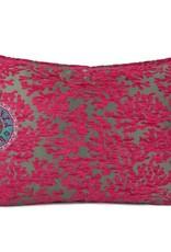 esperanza-deseo Flowers turquoise pillow case / cushion cover ± 50x70cm - Copy - Copy - Copy