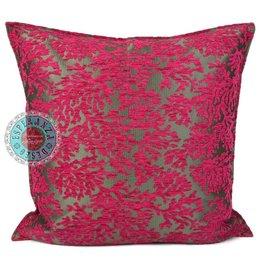 esperanza-deseo Flowers turquoise pillow case / cushion cover ± 70x70cm - Copy - Copy - Copy