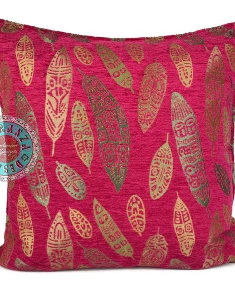 esperanza-deseo Boho feathers kussenhoes ± 70 x 70 cm