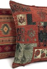 esperanza-deseo Aztec brique kussenhoes ± 45x45cm