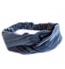 Love Ibiza Velvet haarband grijs