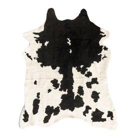 Damn Koeienhuid zwart wit imitatie