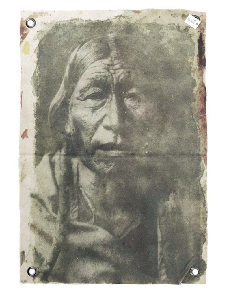 Damn Canvas doek indiaan M