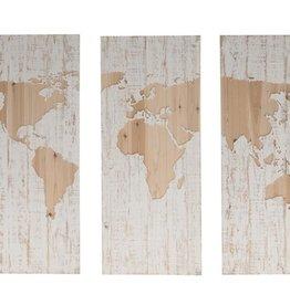 Damn Wall panel triptych world - Copy - Copy - Copy - Copy - Copy - Copy