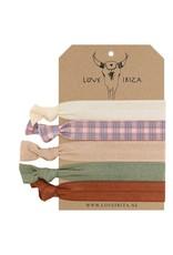 Love Ibiza Brooklyn set of 5 hair bows / bracelets - Copy - Copy - Copy