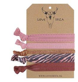 Love Ibiza Rose set van 5