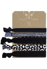Love Ibiza Silver leopard set van 5
