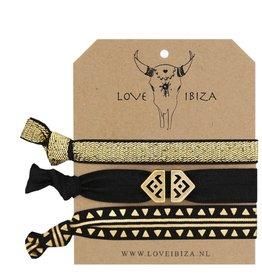 Love Ibiza Mermaid gold set of 3