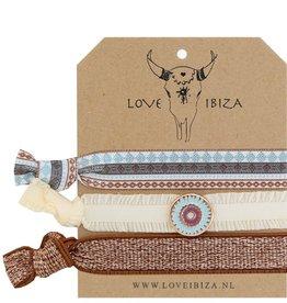 Love Ibiza Brandy set van 3
