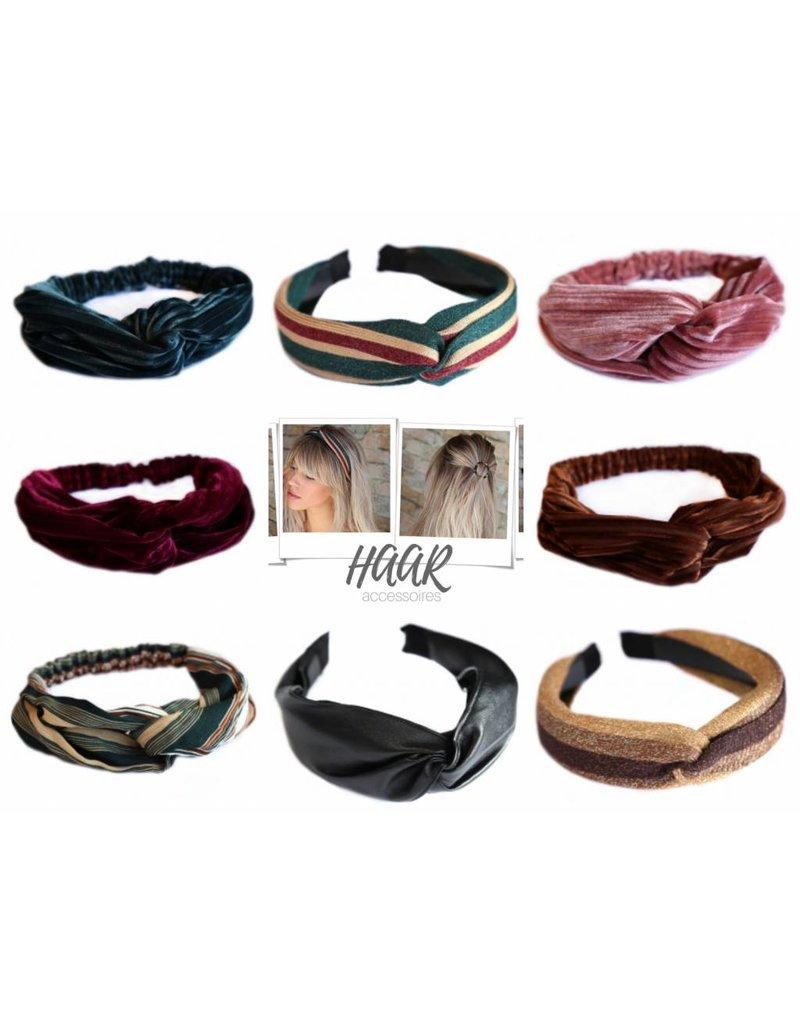 Love Ibiza Haarband stripe black